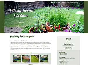 Anthony Jannece Gardener Screenshot