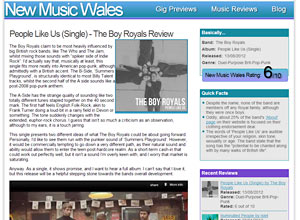 New Music Wales Screenshot